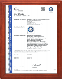 burn care TUV certification